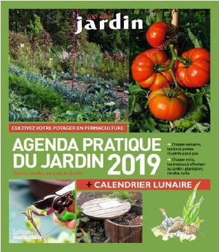 agenda 2019 jardin plantes livre