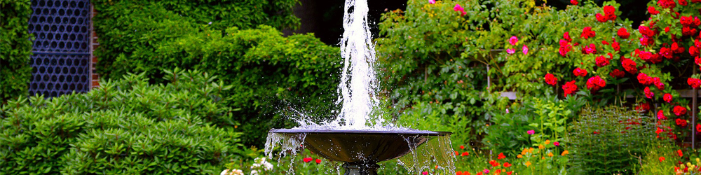 Fontaine Terrasse Jardin Blog Delbard